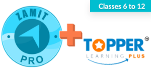 Picture of zamit Pro + Topper Learning (Classes 6-12)