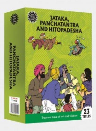 Picture of Jataka, Panchatantra and Hitopadesha amar chitra katha